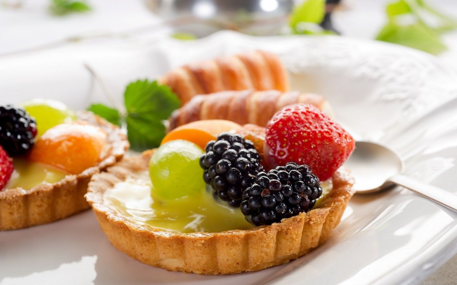 Fruits Pie Desserts