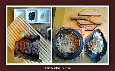 Roka Akor Wagyu Beef and Mushroom Hot Pot