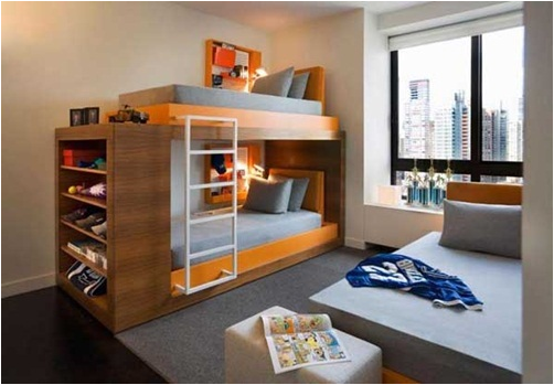 No really boys will love bunk beds because they can clime and play like  little boys like to do  Check out these fun bunk beds for young boys  bedrooms. Bunk It Out for Young Boys Bedrooms   Room Design Inspirations