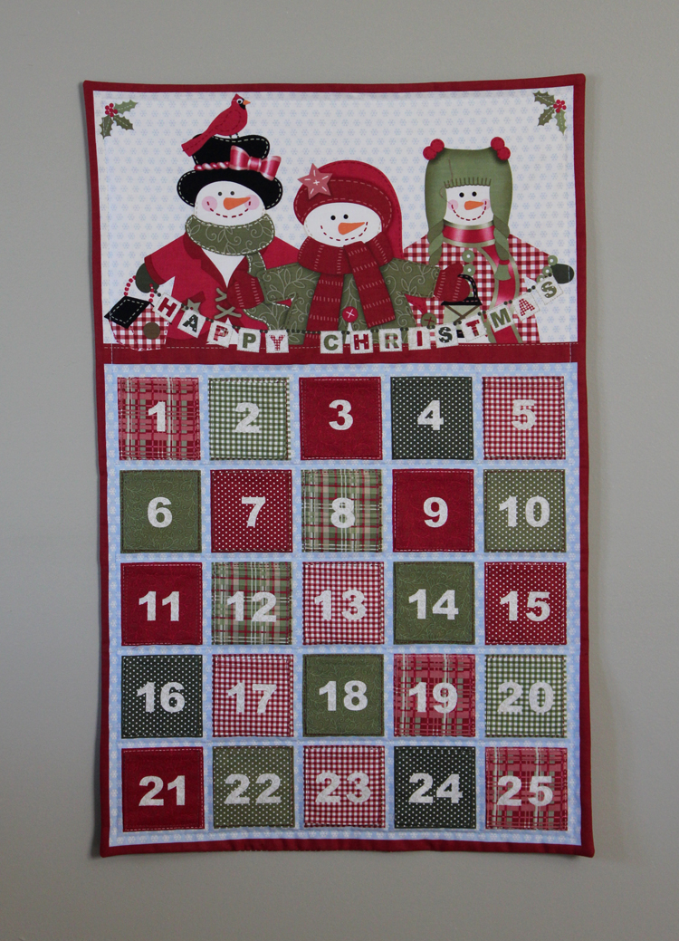 Fabric Mill: Advent Calendar (panel) tutorial