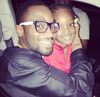 D'banj Spotted With 2face Idibia's Daughter, Isabella