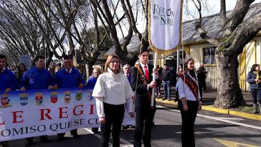Corporación Ñuble Región en Homenaje 238° Aniversario Natalicio de Bdo. O´Higgins en Chillán Viejo