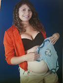 Waneska Alves a futura mamãe do Antônio