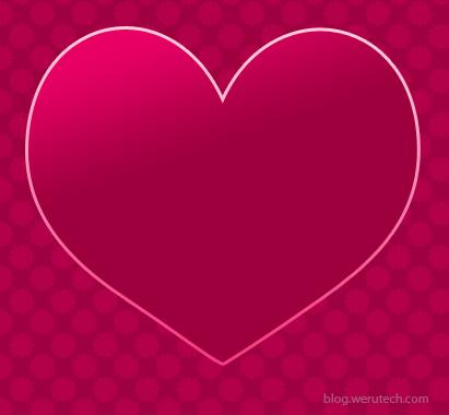Membuat Kalender Februari Tema Valentine