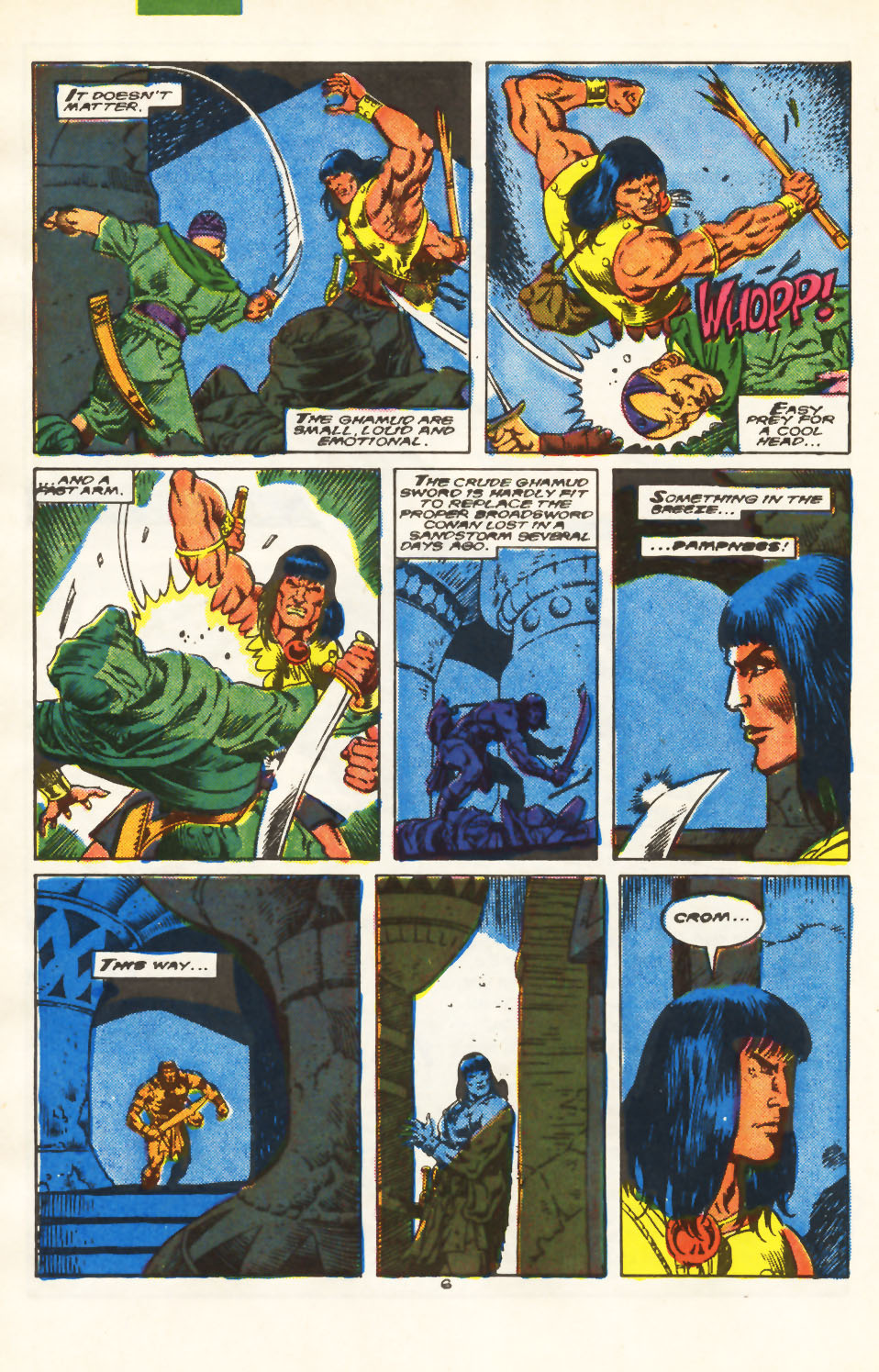 Conan the Barbarian (1970) Issue #213 #225 - English 6