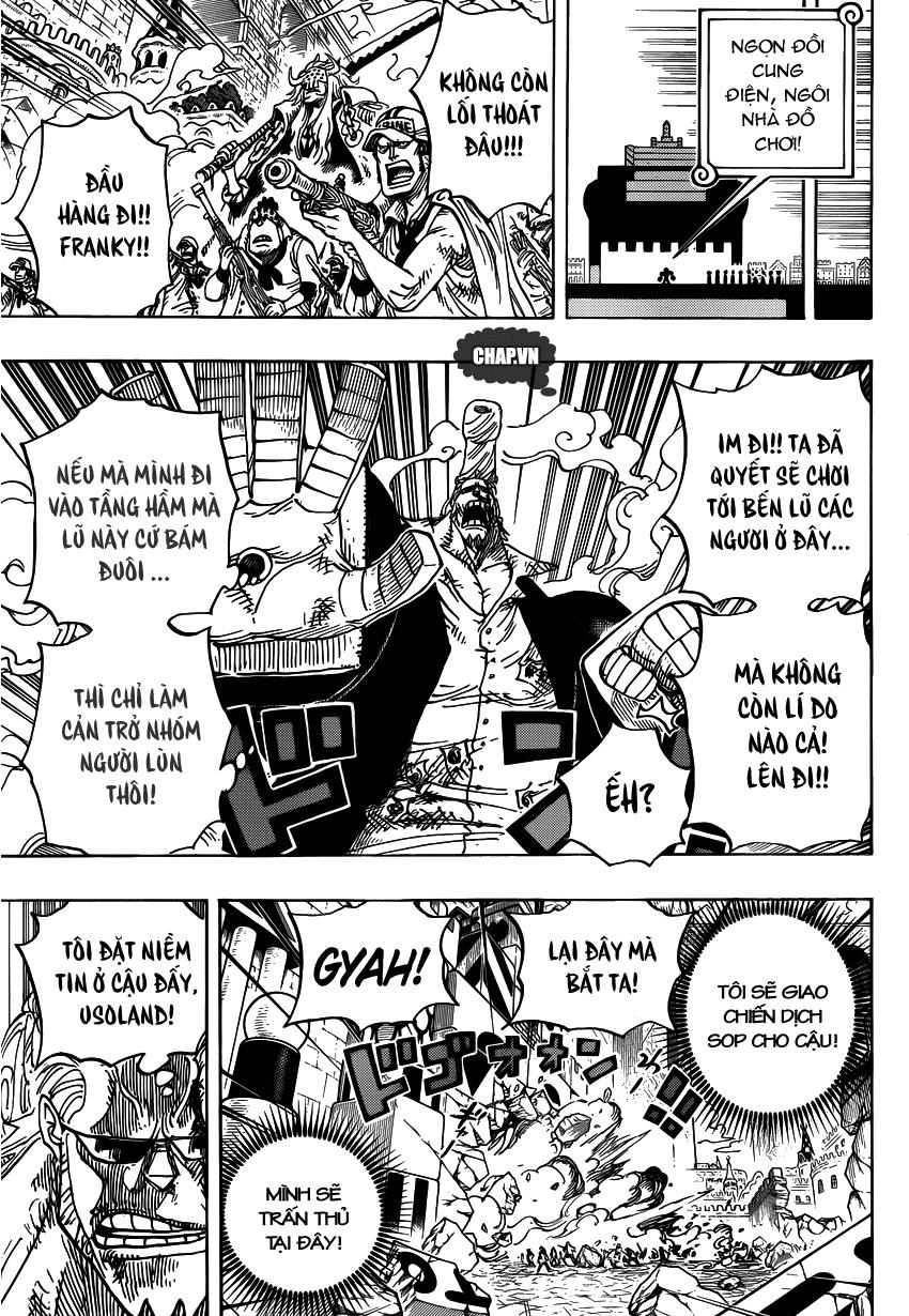 One Piece Chapter 740: Gửi trọn niềm tin 017