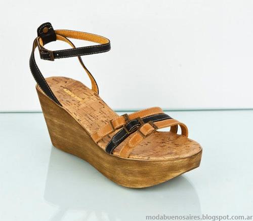 Ferraro zapatos sandalias 2013. Moda zapatos 2013.