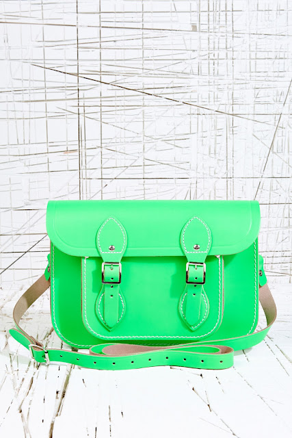 lime cambridge satchel