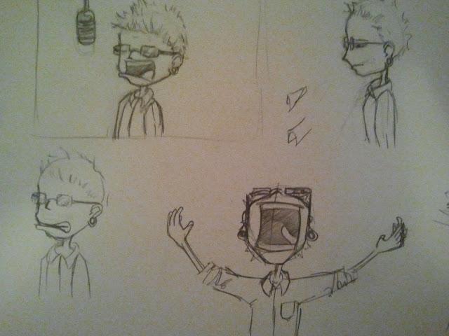 Chester Benningtion Sketches