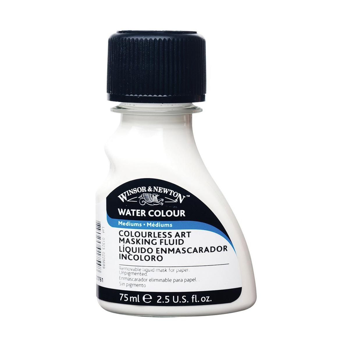 ウィンザー & ニュートン水彩アート マスキング流体無色 75 ml