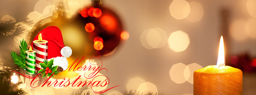 Merry Christmas 2016 facebook timeline photo