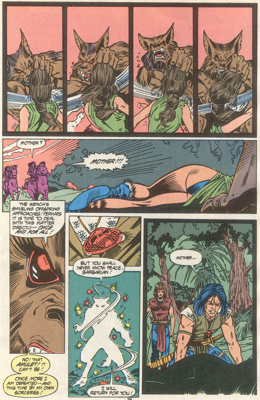 Conan the Barbarian (1970) Issue #234 #246 - English 22