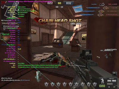 Cheat Point Blank Garena Indonesia 6, 7 September 2015 Wallhack, Aim, Ammo, Bug, No Recoil