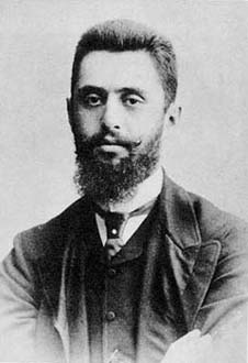 a biography of theodore herzl a journalist and playwright Well-pedigreed biography of zionist leader was the life of theodor herzl introduces viewers to one of the coloring his work as a reporter and playwright.