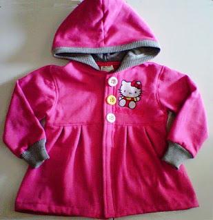 Jaket Anak Perempuan  Hello Kitty