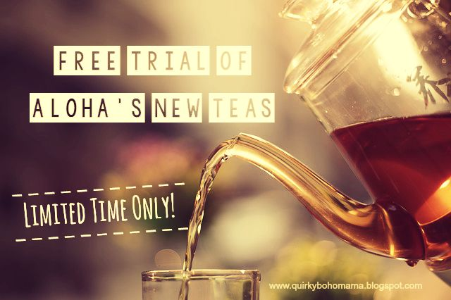 Free Trial of ALOHA's NEW Teas!