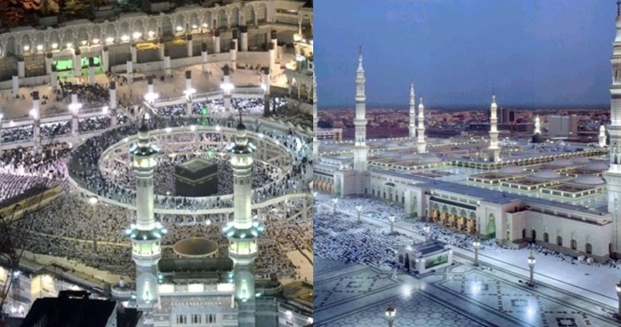 Hasil gambar untuk foto kota makkah dan madinah