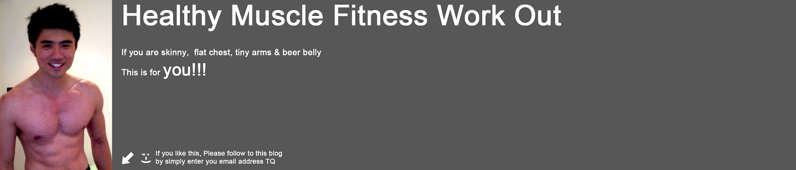 Healthy Muscle Fitness Work Out
