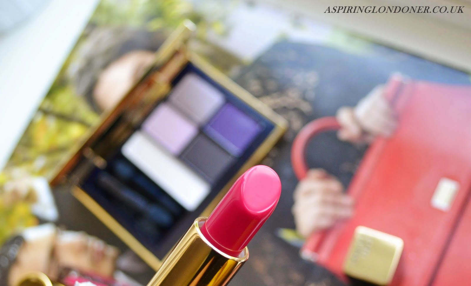 Estee Lauder Pure Color Envy Sculpting Lipstick in Tumultuous Pink - Aspiring Londoner