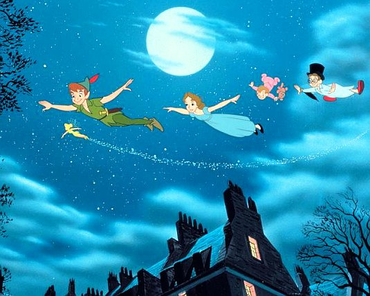 Peter Pan, Tinker Bell, Wendy Darling, 1953, Disney