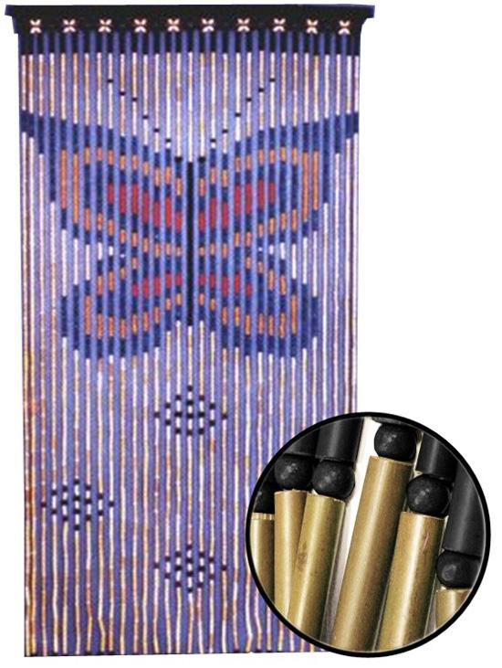 Cortinas de bamb puertas de lujo decorar casa y hogar for Cortinas para puertas de armarios