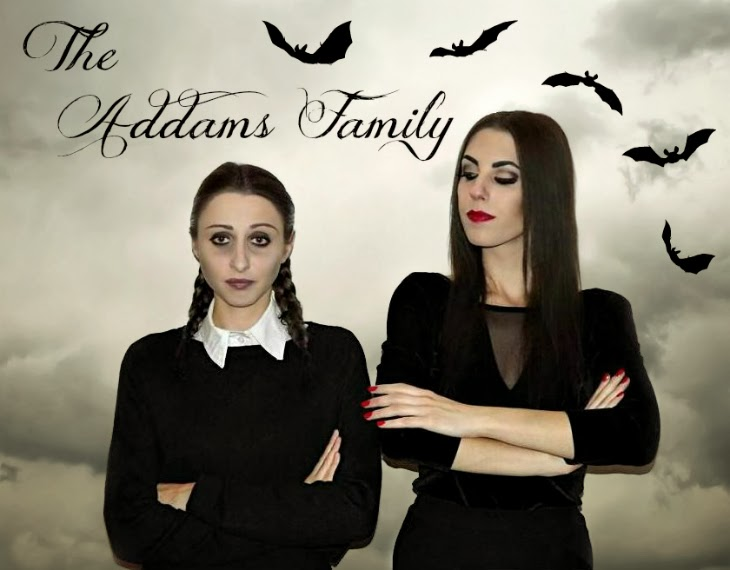 How to make THE FAMILY ADDAMS Halloween Costume