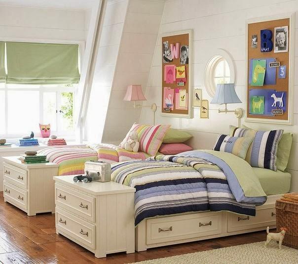 Dormitorios para Niños y Niñas