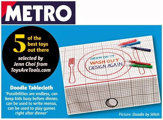 Read Ross McGuinness' article at UK's Metro featuring Toys Are Tools' Picks!