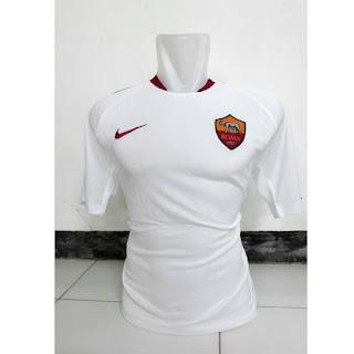 gambar detail jersey terbaru Jersey As Roma away terbaru musim 2015/2016