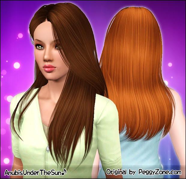 anubis - sims stuff peggy hair