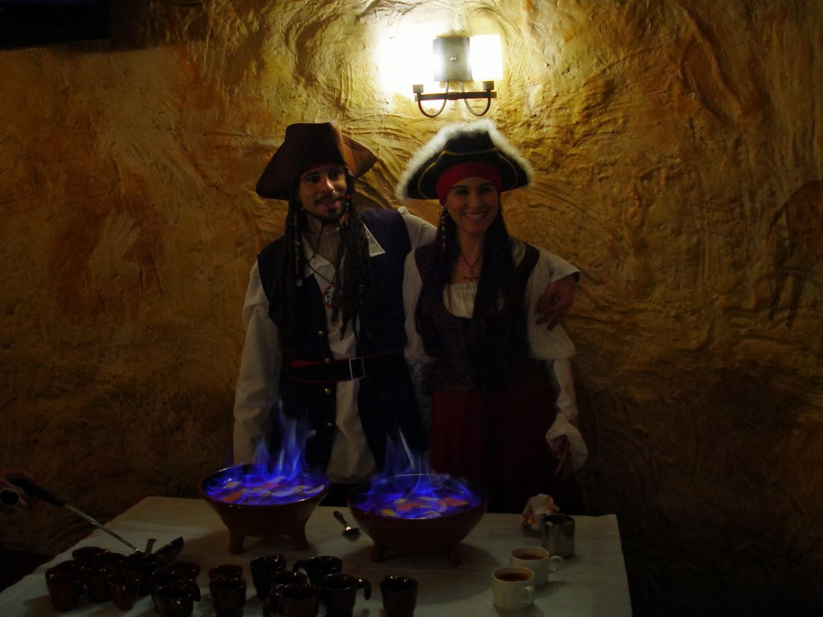 halloween queimada piratas