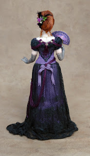 Chantelle Miniature Doll Full View Back