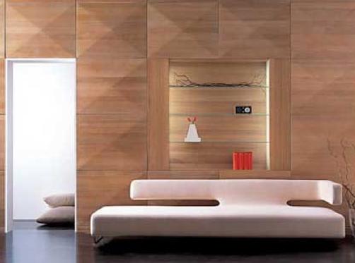 Lamiwoden: Un hogar diferente y con estilo propio: Paredes decoradas ...