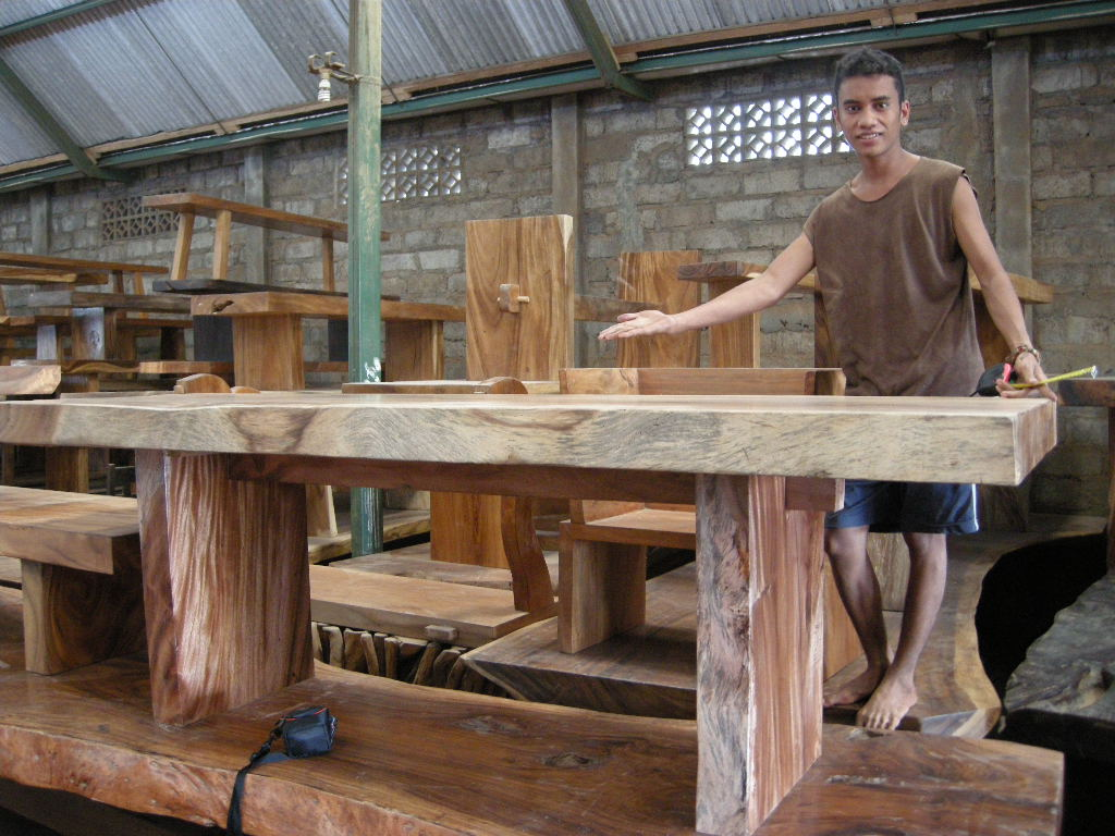 ... Monkey Pod Wood Table Top Slabs And Furniture For Sale. The Custom Made  Table Top Slab Sizes Range From 1.5 Meters Long To 4 Meters Long.