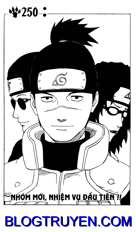 Naruto chap 250 Trang 1 - Mangak.info