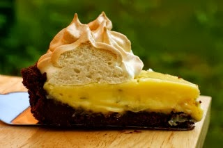 Recipe of the week: Chocolate Lime Meringue Pie