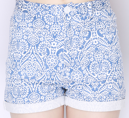 Origin Paisley Cuffed Shorts