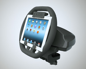 Kolos: The First Racing Wheel For iPad
