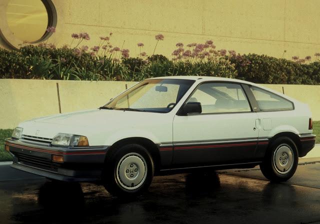 Period photo of 1984-1987 Honda CR-X
