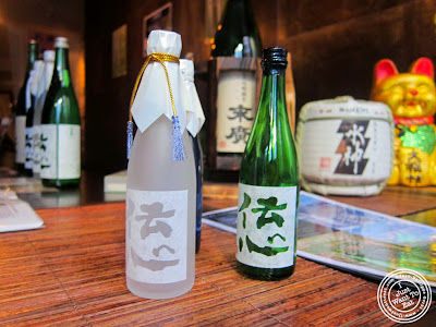 image of sake at SakaMai in NYC, New York
