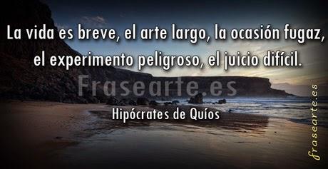 Mensaje para la vida, Hipócrates de Quíos