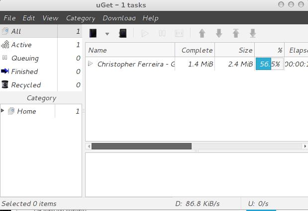 Download uGet di Linux, Cara Install uGet di Linux, Cara memasang uGet di Linux