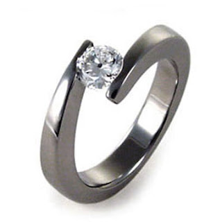 womens titanium wedding rings