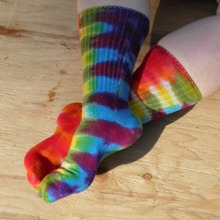 tie+dye+socks FREE Blogger Opp! ~ Made by Hippies Tie Dye Giveaway!