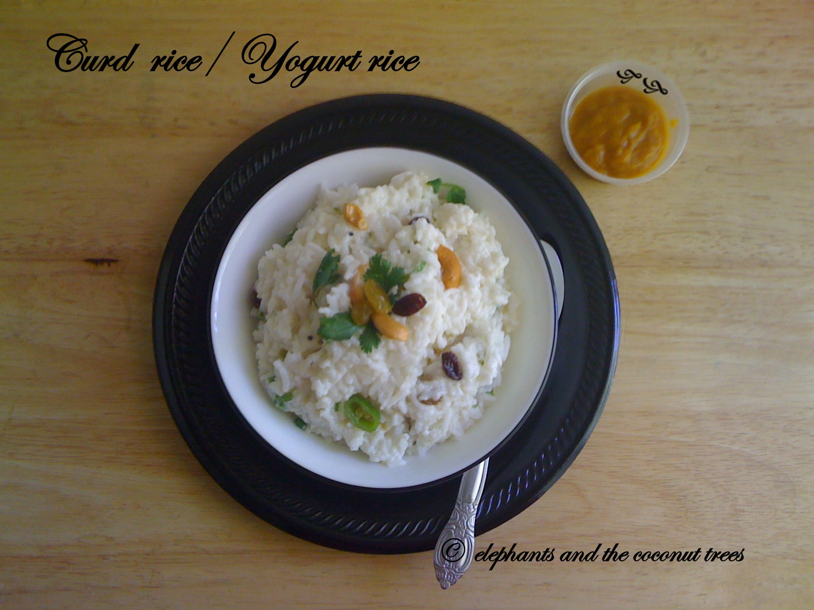 Yogurt rice /curd rice is ideal for lunch , to carry on road trips ...
