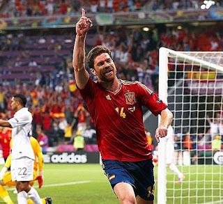 أهداف مباراة اسبانيا وفرنسا 2-0 في بطولة اليورو 23-6-2012