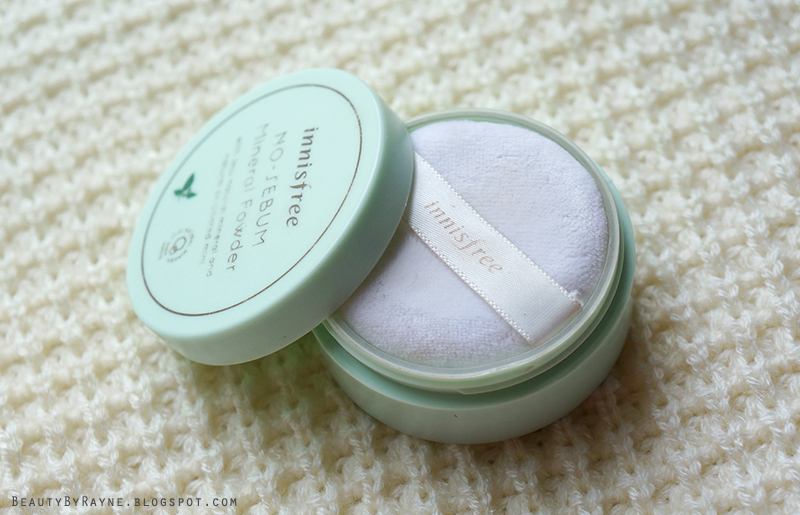 Innisfree No-sebum mineral loose powder review