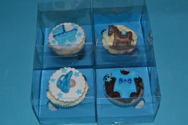 cajas cupcakes detalles bautizo bebe niño sugar dreams gandia