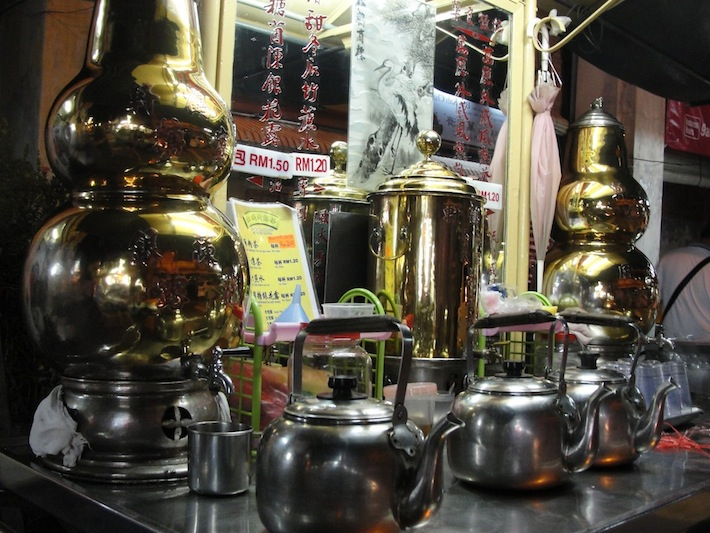 herbal tea in on cintra street in george town penang