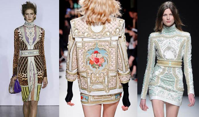 VENTOS BARROCOS_Vestidos estilo Barrocos_Armani_Balmain_Jaquetas bordadas_jaquetas estilosas